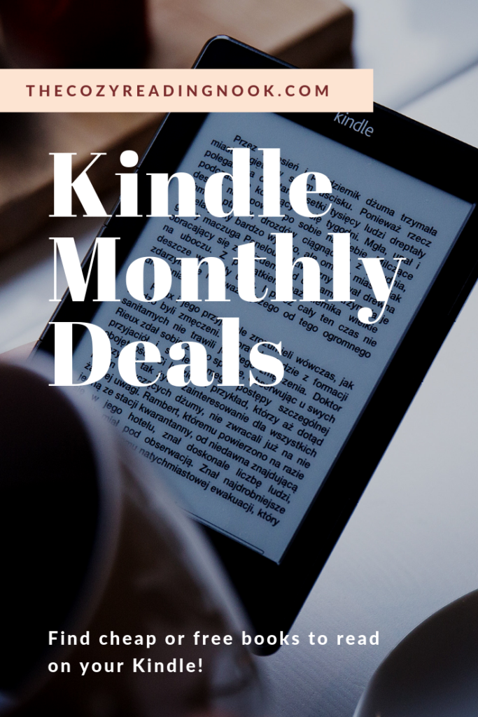 Kindle Book Deals May 2019 - The Cozy Reading Nook